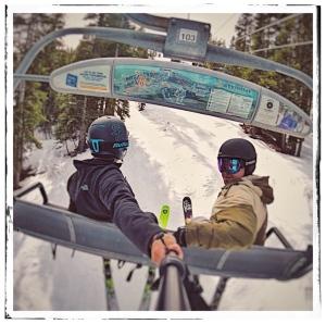 Skiing Tahoe 2018
